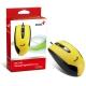 Genius DX-100 Stream Optical Mouse - Yellow