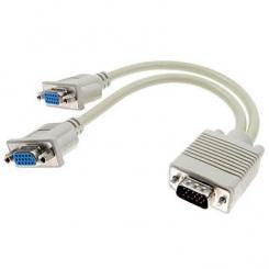 کابل تبدیل 1 به 2 مانیتور VGA