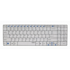 Keyboard Rapoo E9070 Wireless Ultra-Slim White
