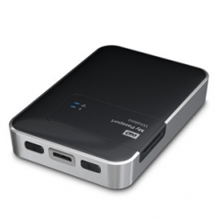 Western Digital My Passport Wireless 2TB WDBK8Z0010BBK-EESN