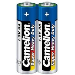 باتری نیم قلمی 2 عددی آبی کملیون شرینک