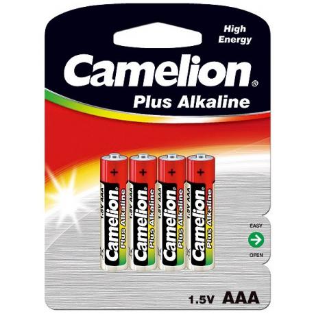 باتری نیم قلمی آلکالاین 4 عددی کملیون Camelion