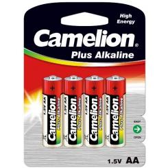 باتری قلمی 4 عددی آلکالاین کملیون با جایزه (جاسوئیچی) Camelion