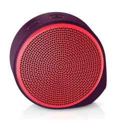 Logitech X100 Mobile mini blauetooth Speaker Red