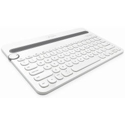 Keyboard Logitech Bluetooth Multi-Device K480 White