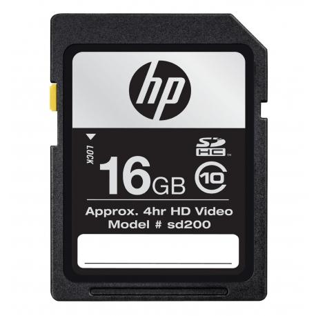 HP 16 GB Class 10 SDHC