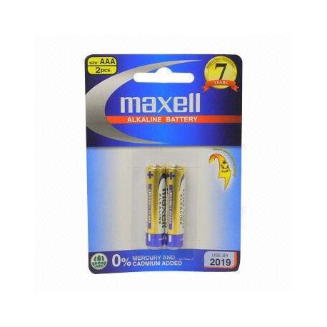 باتری قلمی کارتنی 2 عددی آلکالاین مکسل LR6 (GD