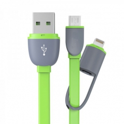 کابل 2.1 USB To andriod .ios . iphone سبز