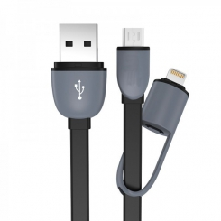 کابل 2.1 USB To andriod .ios . iphone مشکی