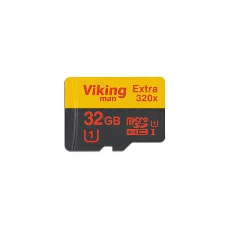 میکرو اس دی 8 گیگابایت VikingMAN MicroSDHC Class 10 8GB - 48MB 320X وایکینگ من