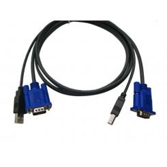 کابل KVM USB مانیتور سوئیچ 1.5 متر