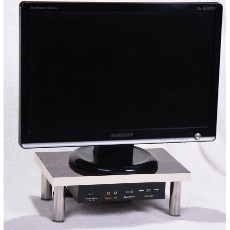 میز مانیتور مدل ادارا با دو ورودی USB ساخت ایران