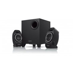 Creative A250 (2.1) Speaker System with Down-firing Ported Subwoofer