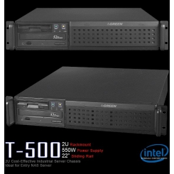 Case Green T-500 Racmount 2U