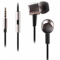 ایرفون MK-730 هدست ای فورتک A4Tech MK-730 HD Metallic In-Ear Earphone - Silver