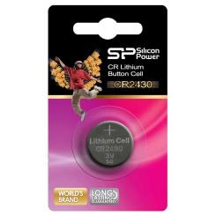 باتری سکه ای 2430 سیلیکون پاور (یک عدد)