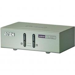 کی وی ام سوئیچ 2 پورت USB VGA/Audio مدل CS72U آتن Aten