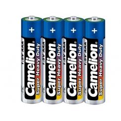 باتری نیم قلمی 4 عددی آبی کملیون شرینک