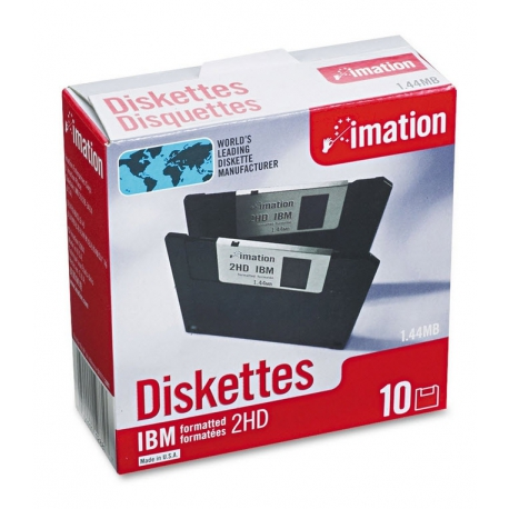 "فلاپی دیسک imation 3.5"" Diskettes (پک 10 عددی)"