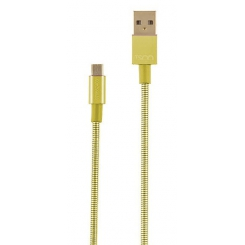 کابل تبديل USB به microUSB تسکو مدل TC 62 طول 1 متر - طلائی