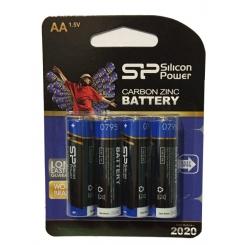 باتری قلمی سیلیکون پاور پک 4 عددی آلکالاین