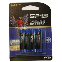 باتری نیم قلمی سیلیکون پاور 4 عددی کملیون