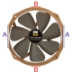 TY-143 140mm Turbine PWM Fan