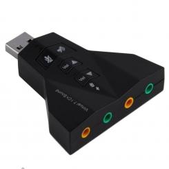 کارت صدا USB معمولی 7.1