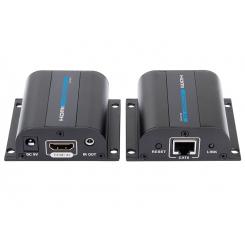اکستندر HDMI بر روی تک کابل شبکه تا 50 متر lenkeng مدل LKV372A