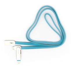 کابل تبديل USB به microUSB تسکو مدل TC 92 طول 1 متر (دو سر اپل و اندروید)