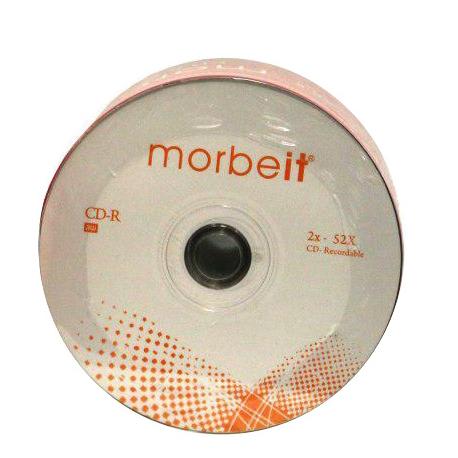 سی دی خام موربیت Morbeit (تایوانی) پک 50 عددی شرینک