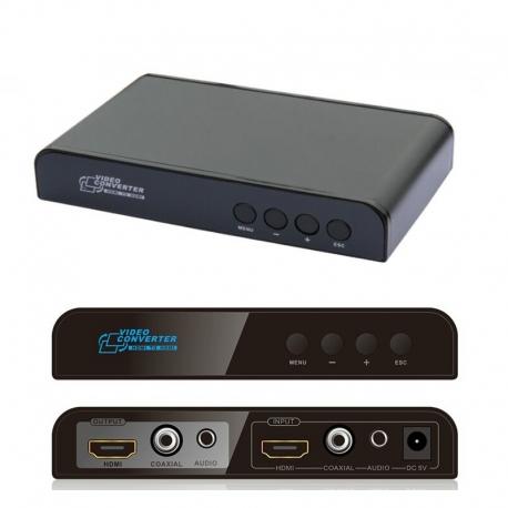 بالا یا پائین آورنده رزولیشن HDMI برند lenkeng مدل LKV323