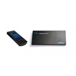 سوئیچ 5 پورت HDMi همراه با کنترل برند lenkeng مدل LKV501E