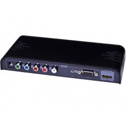 مبدل VGA+YPbPr به HDMI برند lenkeng مدل LKV351PRO