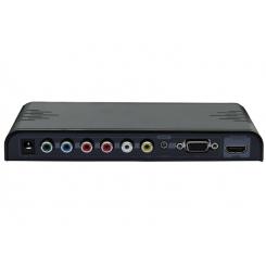 مبدل YPbPr+VGA+CVBS+Audio به HDMI برند lenkeng مدل LKV353