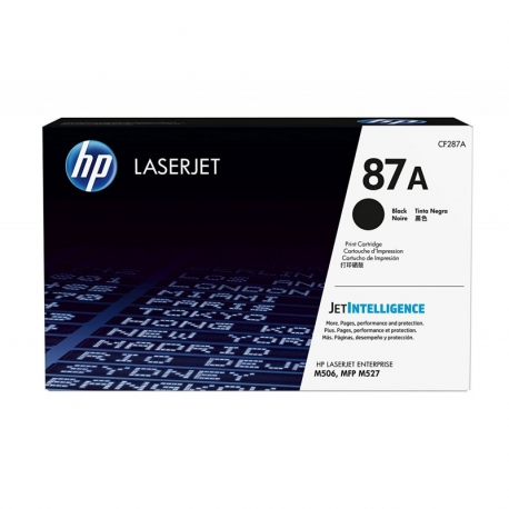 HP Toner Cartridge 87A Black