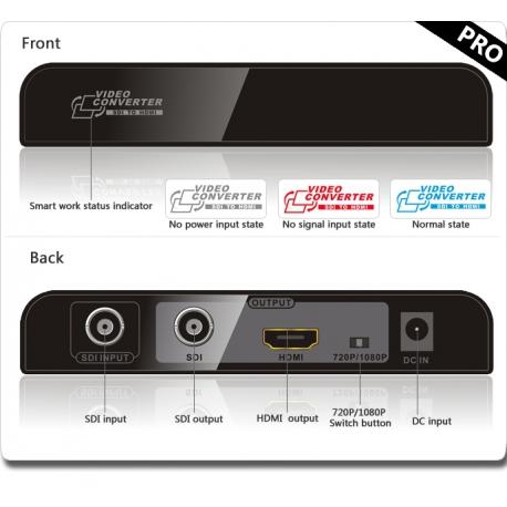 مبدل SDI به HDMI مدل LENKENG LKV368PRO