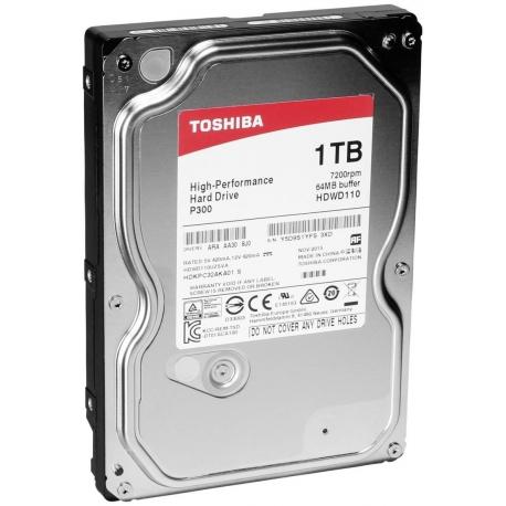 هارد اینترنال 1 ترابایت P300 توشیبا HDD INTERNAL Toshiba P300 HDWD110 -1TB