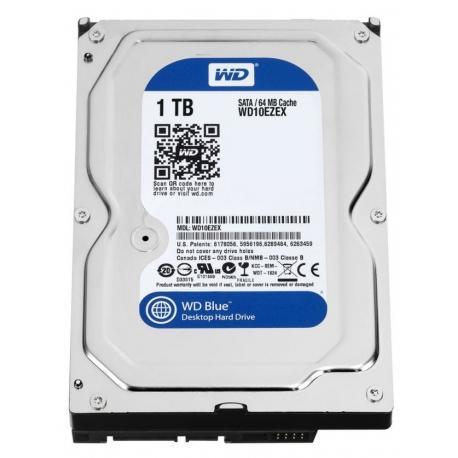 هارد اینترنال وسترن دیجیتال 1 ترابایت Western Digital Blue WD10EZEX - 1TB