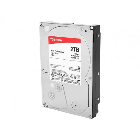 هارد اینترنال 2 ترابایت P300 توشیبا HDD INTERNAL Toshiba P300 HDWD110 -1TB