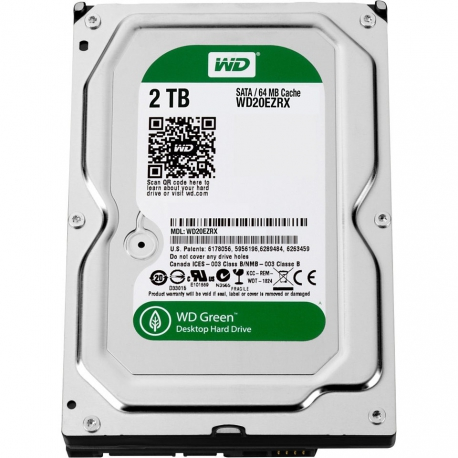 Western Digital Green 2TB Internal Hard Drive
