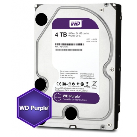 Western Digital Purple 5TB Internal Hard Drive