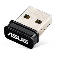 کارت شبکه N10 بیسیم USB و بسیار کوچک ایسوس Asus USB-N10 Nano Wireless-N150 USB Nano Adapter