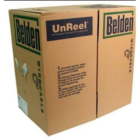 کابل شبکه تمام مسی Belden Cat6 UTP