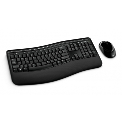 Microsoft Comfort Desktop 5000 Wireless Keyboard + Mouse