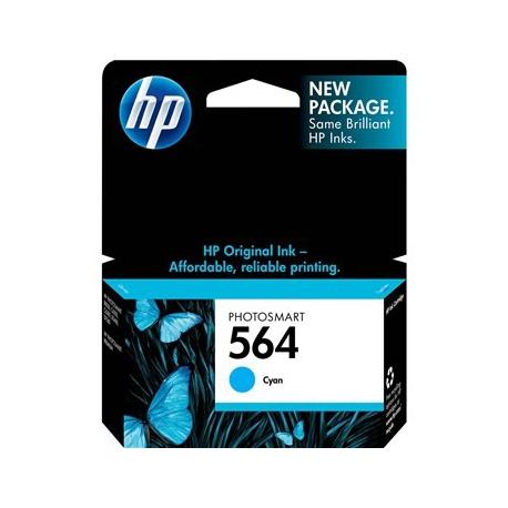 کارتریج جوهرافشان HP 564 آبی
