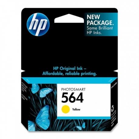 کارتریج جوهرافشان HP 564 زرد