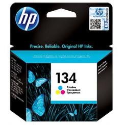 کارتریج جوهر افشان HP 134 Color
