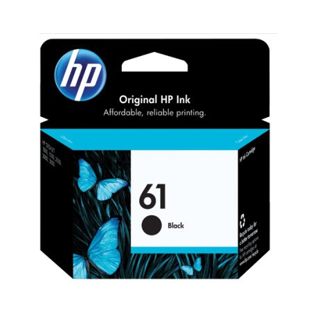 کارتریج جوهر افشان HP 61 Black
