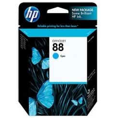 کارتریج جوهر افشان HP 88 Blue